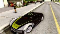 Citroen GT Gymkhana para GTA San Andreas