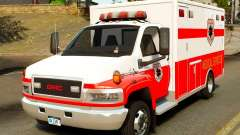 GMC C5500 Topkick Ambulance para GTA 4
