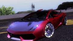 Lamborghini Gallardo Racing Street para GTA San Andreas