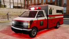 Primeros auxilios Monster Energy para GTA 4