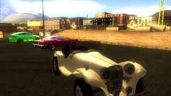 Jaguar SS 100 para GTA San Andreas