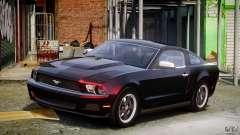Ford Mustang V6 2010 Chrome v1.0 para GTA 4