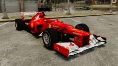 Ferrari F2012 Burgundy para GTA 4