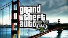 Pantallas de inicio al estilo de GTA 5 para GTA San Andreas