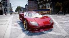 Koenigsegg CCRT para GTA 4