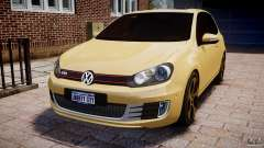 Volkswagen Golf GTI Mk6 2010 para GTA 4