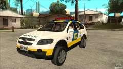 Chevrolet Captiva Police