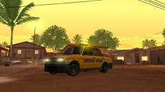2106 VAZ tuning Taxi para GTA San Andreas