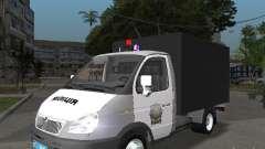 GAZ 3302 policía