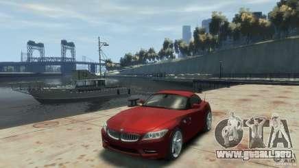 BMW Z4 para GTA 4