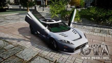 Spyker C8 Aileron v1.0 para GTA 4