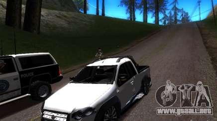 Fiat Strada para GTA San Andreas