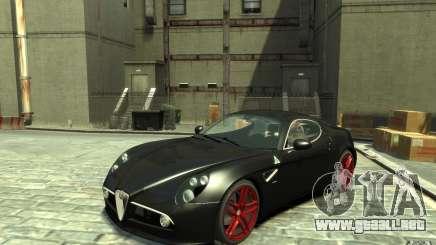 Alfa Romeo 8C Competizione v1 para GTA 4