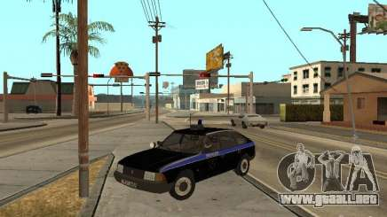 Patrulla AZLK 21418 para GTA San Andreas