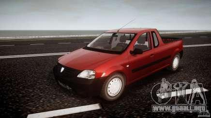 Dacia Logan Pick-up ELIA tuned para GTA 4