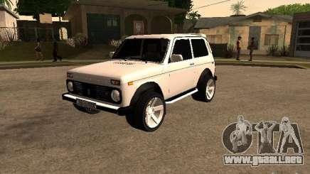 Armenian NIVA DORJAR 4 x 4 para GTA San Andreas