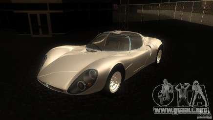 Alfa Romeo Tipo 33 Stradale para GTA San Andreas