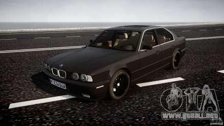BMW 5 Series E34 540i 1994 v3.0 para GTA 4