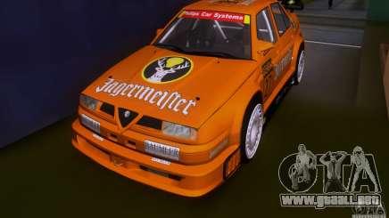Alfa Romeo 155 v6 DTM Jagermeifter para GTA San Andreas
