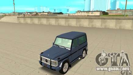 Mercedes-Benz G500 1999 Short [with kangoo v2] para GTA San Andreas