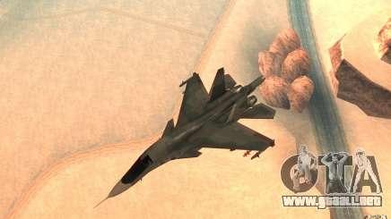 El Su-34 para GTA San Andreas