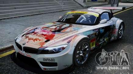 BMW Z4 GT3 2010 V.2.0 para GTA 4