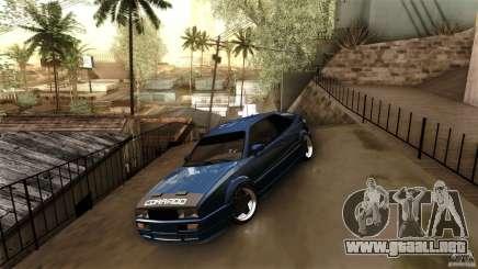 Volkswagen Corrado VAG para GTA San Andreas