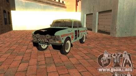 Versión Rally Moskvich 412 para GTA San Andreas