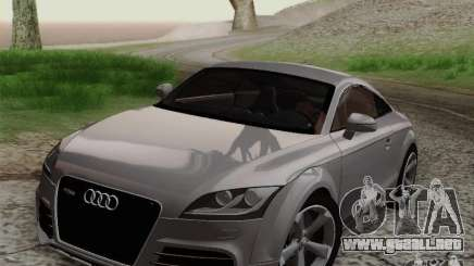 Audi TT-RS Coupe para GTA San Andreas