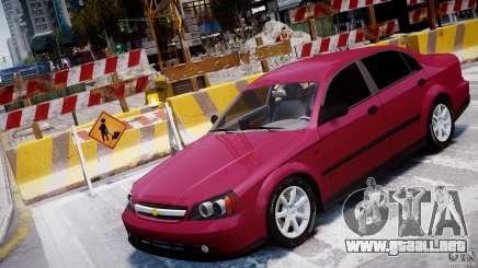 Chevrolet Evanda para GTA 4