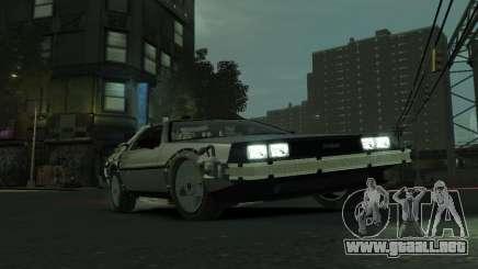 DeLorean BTTF 2 para GTA 4