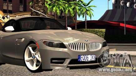 BMW Z4 Stock 2010 para GTA San Andreas