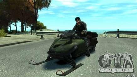 Motos de nieve para GTA 4