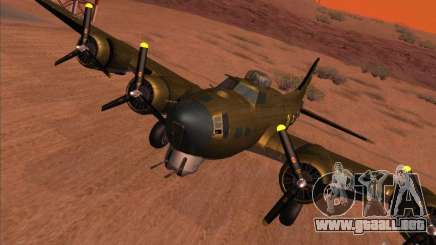 B-17G Flying Fortress para GTA San Andreas