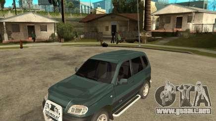 NIVA Chevrolet para GTA San Andreas