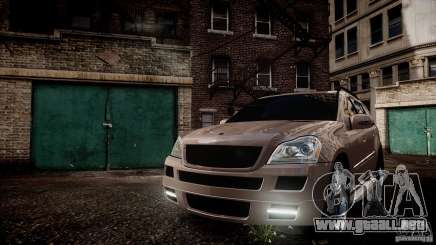 Mercedes-Benz GL450 Brabus Black Edition para GTA 4