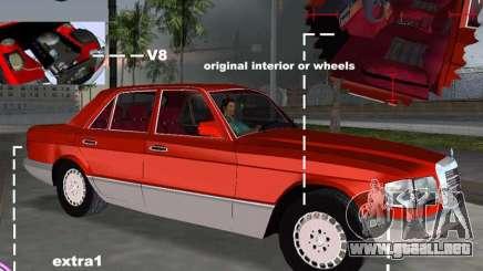 Mercedes-Benz W126 500SE para GTA Vice City