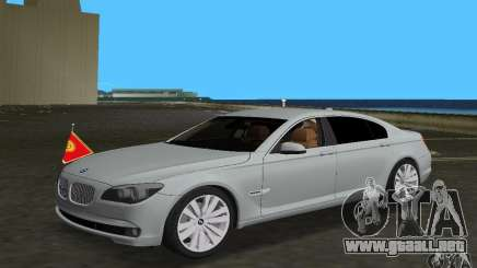 BMW 750 Li para GTA Vice City