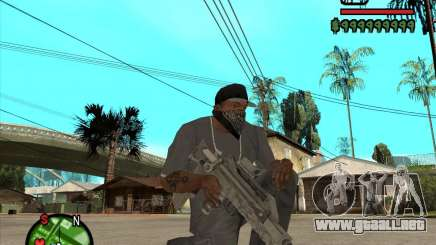 Famas de CoD Black Ops para GTA San Andreas