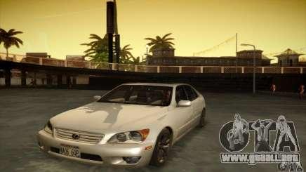 Lexus IS 300 para GTA San Andreas