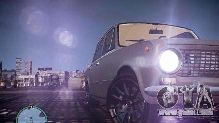 VAZ 2101 1972 Tun para GTA 4