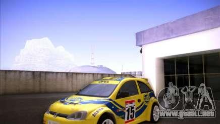 Opel Corsa Super 1600 para GTA San Andreas