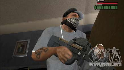 P90 de GTA IV The Ballad of Gay Tony para GTA San Andreas