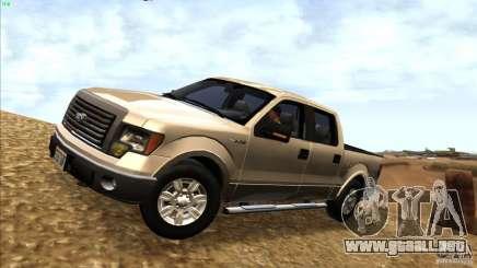 Ford F150 XLT SuperCrew 2010 para GTA San Andreas