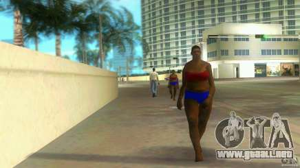 Big Lady Cop Mod 2 para GTA Vice City