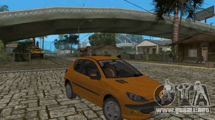 Peugeot 306 para GTA San Andreas