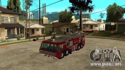 Rosenbauer Simba 8x8 GFLF FDSA para GTA San Andreas