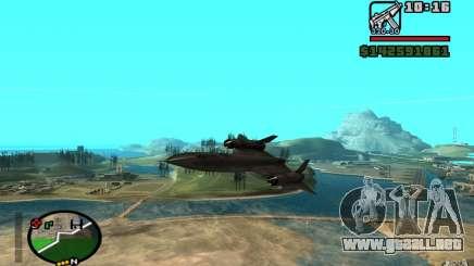SR-71 Blackbird para GTA San Andreas