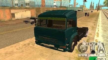 Kamaz 5460 para GTA San Andreas