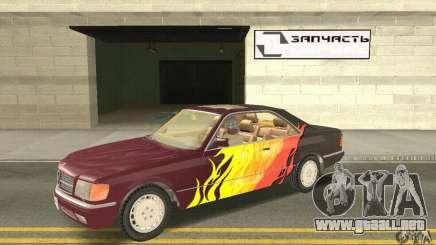 Mercedes-Benz W126 560SEC para GTA San Andreas